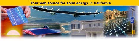 Your web source for solar energy in California